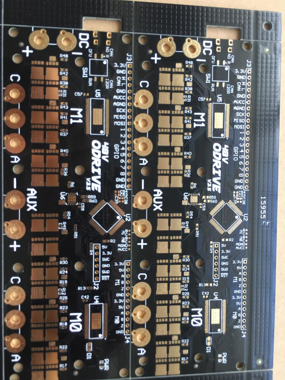 4 طبقة 1.6MM 2OZ ENIG PCB