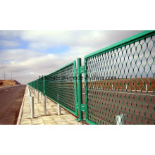 Galvanized Expanded Metal Wire Mesh Fence