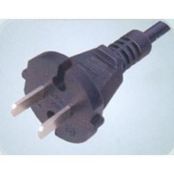 Chinesischen CCC 10A Netzkabel mit Stecker