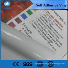 hot sale 1.52x50m matte white pvc self adhesive vinyl