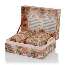 Custom paper cardboard gift packaging tea Box With Logo Printing