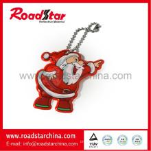 Customized promotional reflective key ring gifts