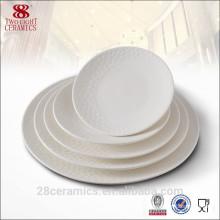 Wholesale guangzhou china hotel crockery, ceramic dishes and plates