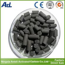Pellet de carbón activado para VOCS