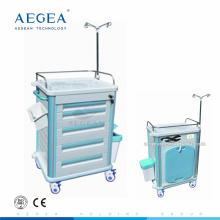 AG-ET012B1 Transfert de l'hôpital mobile fermé abs matériel médical chariots de soins de santé