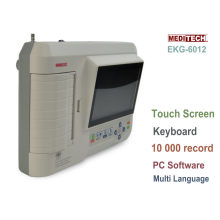 Meditech EKG 6012 /6 Channel with Monitor/Memory 1000 Cases