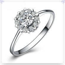 Fashion Ring Crystal Jewelry 925 Bijoux en argent sterling (CR0060)