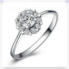 Jóia de cristal do anel da forma 925 jóia da prata esterlina (CR0060)
