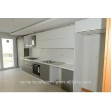 2017 Luxus modernes Design Küchenschrank mit lackierter Tür, weiche Schubladen, Großhandel Fertigung