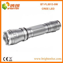 Fabrik Bulk Verkauf 3.7V 18650 Akku powered 3 Modus Tactical Aluminium 5w Cree XPG wiederaufladbare LED Taschenlampe