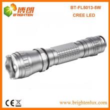 Factory Bulk Sale 3.7V 18650 Alimenté par batterie 3 mode Tactical Aluminium 5w Cree XPG Rechargeable led Flashlight Torch