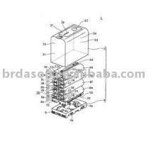 Machine de soudure ultrasonique de paquet de batterie