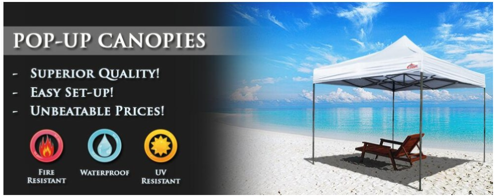 Folding UV resistant promotion beach tent advantages