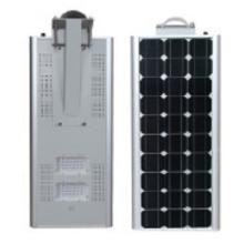 Luz de rua solar integrada 30w