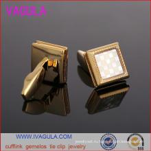 VAGULA качества золота свадебные Мужские рубашки манжеты Gemelos Запонки (L51923)