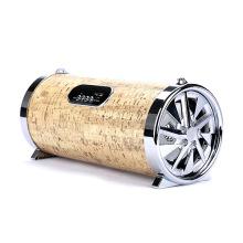Beweglicher Lautsprecher der Fabrikspeisung 20W 1200mAh, hölzerne bluetooth Karaokesprecher-Resonanzkörper