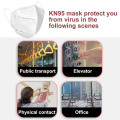 Ce Certification Anti Virus Masque jetable Kn95