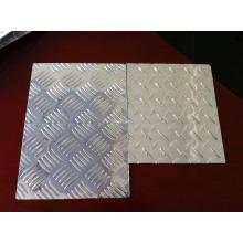 Plaque à damier en aluminium gaufré Plaque à damier