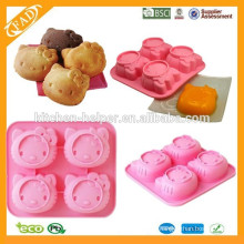 New Arrival silicone cake mold Hello Kitty