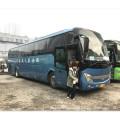 Ônibus do passageiro de 12m 60 assentos com o motor da parte traseira de Weichai 336HP