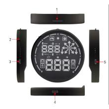 V-Checker H501 OBD 2 carro Hud chefiar Display velocímetro Detector alerta de velocidade excessiva do veículo