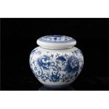Boite hermétique ronde en poteau en céramique