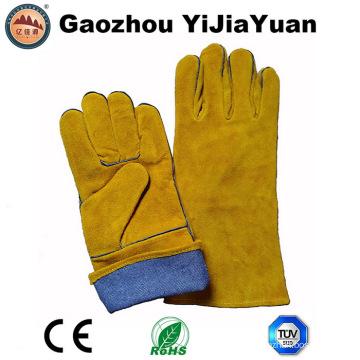 Перчатки для сварки с теплоизоляцией с En12477