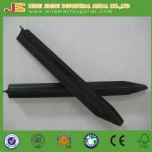 Black Bitumen Star Picket, Metal Y Post, Steel Picket