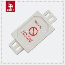 BD-P31 Safety Tagout Plant Machinery Harness Micro Tag, equipamento de rotulação de bloqueio