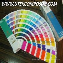 Pâte multicolore pour produits FRP