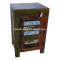 recyled wooden cabinet