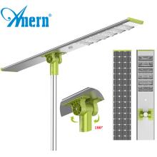 Anern 100 watt 120 watt integrated led solar street light