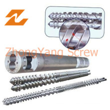 Twin Parallel Screw and Barrel for Cable & Wires Extruder