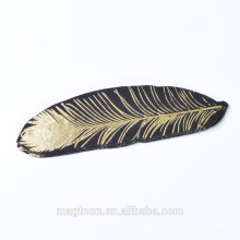 latest custom good looking special feather like fridge magnet for promotional gift