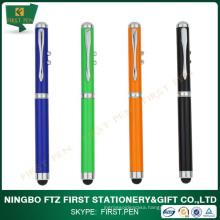 Cap-Off Touch Function Laser Stylus Pen