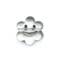 Нержавеющая сталь Металл 3d цветок формы печенья