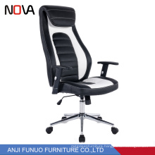 Nova Swivel Ripple Backrest leather Executive Modern Wholesale High Back Manager Office Chair