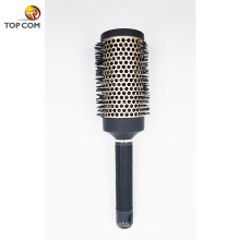 Nano Thermal Ceramic & Ionic Round Barrel 100% Boar Bristle Hair Brush