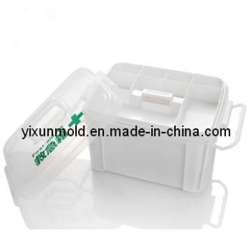 Molde de kit de primeiros socorros de plástico doméstico