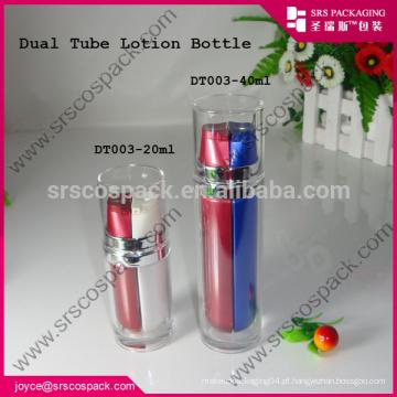Loção Loção Garrafa Para Cosmética, 20ml 40ml Loção Tube Dupla Garrafa E Rodada Especial 20 ml Garrafa De Pintura Plástico