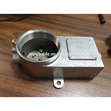 aluminum die casting machining finish custom parts, stainless steel casting machining finish products