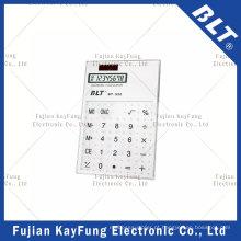 8 dígitos calculadora de tamanho de bolso transparente para promoção (BT-920)