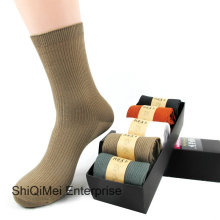 Men Plain Pure Casual Dress / Office / Working / Business Socks