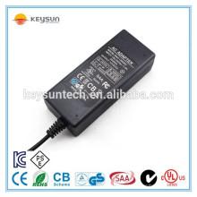 Fonte de alimentação de adaptador de CA / CC de 90W 15V 6A de alta qualidade