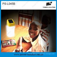 Lámpara portátil portátil Mini Solar para iluminación familiar, 2 años de garantía para reemplazar velas y kerosén