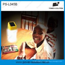 Mini lampe à main solaire portative pour l'éclairage de famille, 2 ans de garantie pour remplacer des bougies et des kérosenes