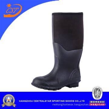 100% Natural Black Rubber Neoprene Muck Boots