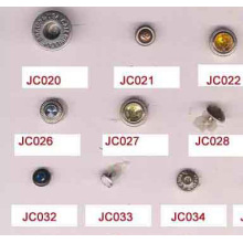 High quality and jeans snap rivet types buttons wholesale