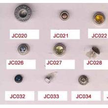 Alta qualidade e jeans snap rivet botões de tipos por atacado