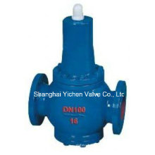 Фланцевый редукционный клапан давления воды из чугуна